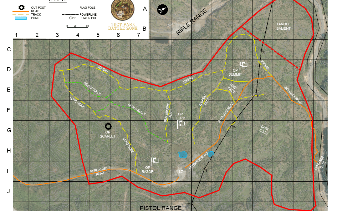TAC Tect Park Field Map